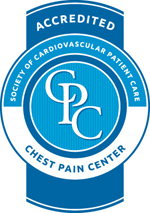 Chest Pain Center Accredidation Logo